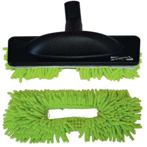 Brosse serpillière spécial parquet microfibre verte