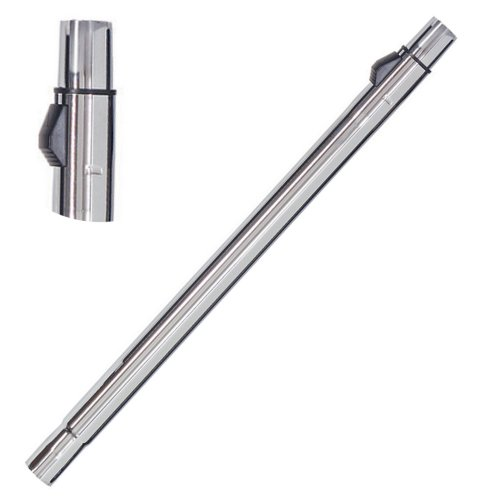 Canne télescopique réglabe en métal chromé