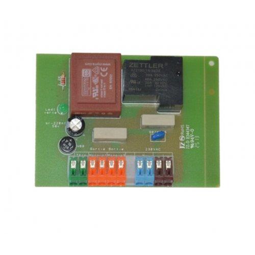 Circuit de contrôle 24V bas voltage aspiration centralisée