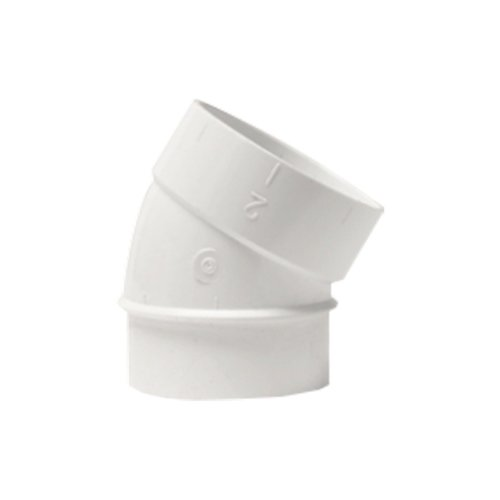 Coude directionnel PVC 30° M/F