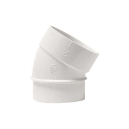 Coude directionnel PVC 38° M/F