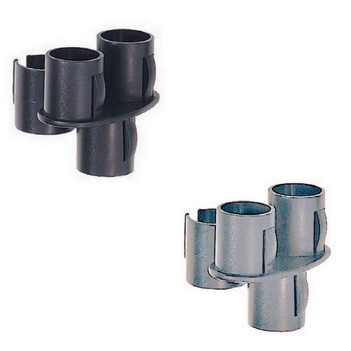 Porte brosses sur balai aspirateur