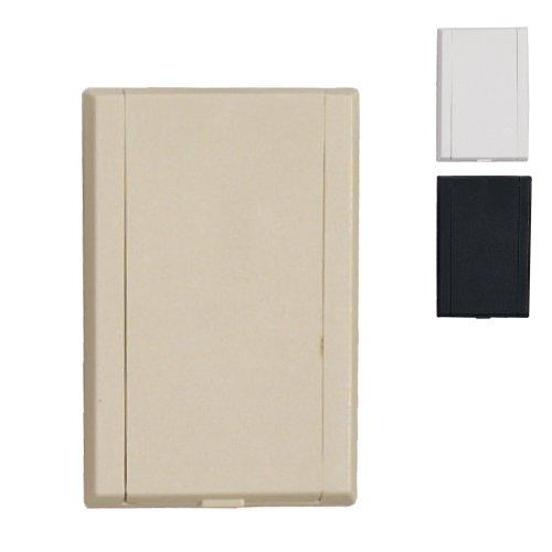 Prise PVC rectangle classique pour aspiration centralisée