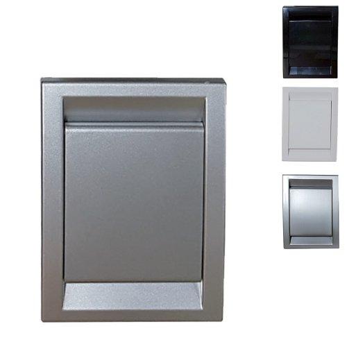 Prise PVC rectangle design pour aspiration centralisée