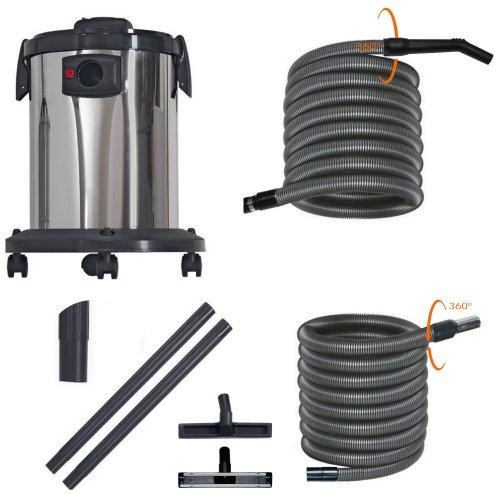Récupérateur d'eau livré avec flexible complet
