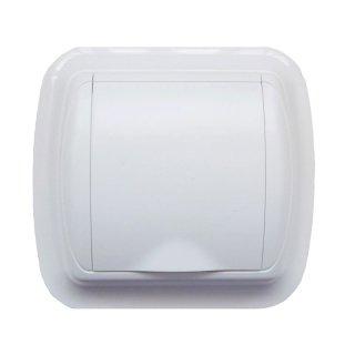 Prise carrée blanche pour aspirateur central