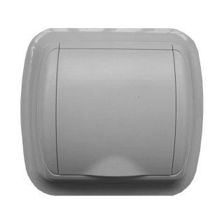 Prise carrée grise pour aspirateur central